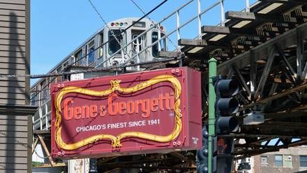 """Gene and Georgetti - Recognized as Chicago's oldest prime steakhouse, Gene & Georgetti was founded in 1941 by Gene Michelotti and Alfredo Federighi (who was nicknamed """"Georgetti"""" after a famous Italian cyclist). While both are now gone, their legacies live on with the River North restaurant that's consistently listed as one of Chicago's top steakhouses."""