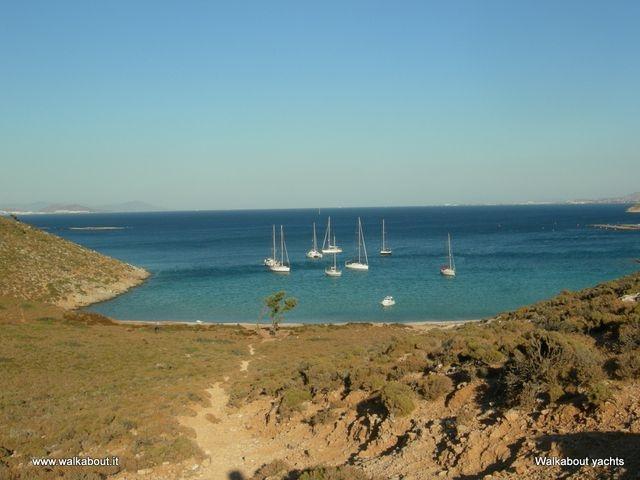 Vacanza in barca a vela in grecia.  Sailing in Greece