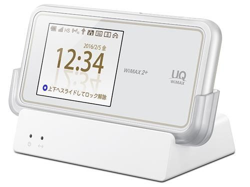 Speed ​​Wi-Fi NEXT W02 is a WiMax 2+ mobile router and is now on sale in Japan.  Communication mode, 110Mbps at the time of WiMAX 2+ of the high-speed mode, when the carrier aggregation enabled 220Mbps. On the other hand, the high-speed plus area mode au 4G LTE (800MHz) when will be 75Mbps. Wi-Fi is corresponding to the IEEE 802.11a / b / g / n / ac wireless LAN. Up to 10 simultaneous connections possible.