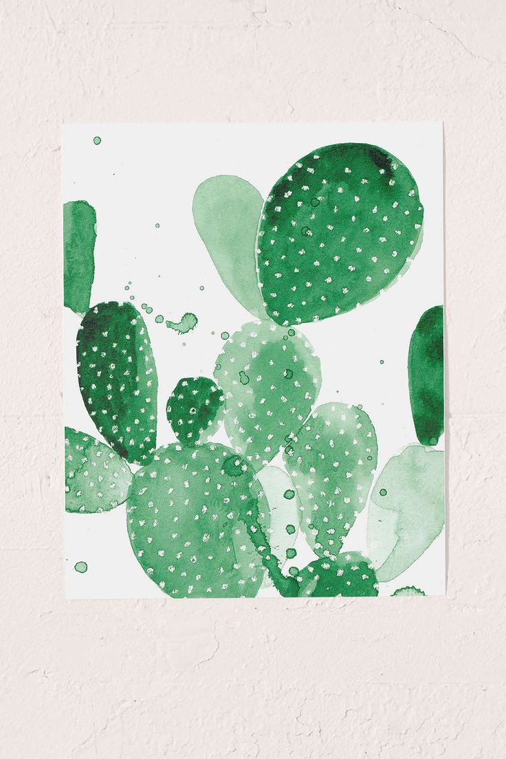Urban Outfitters Tapestry Cactus