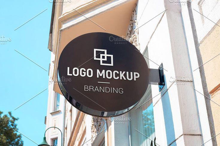 Company Sign Street Mockup Logo Mockup Street Signs Mockup