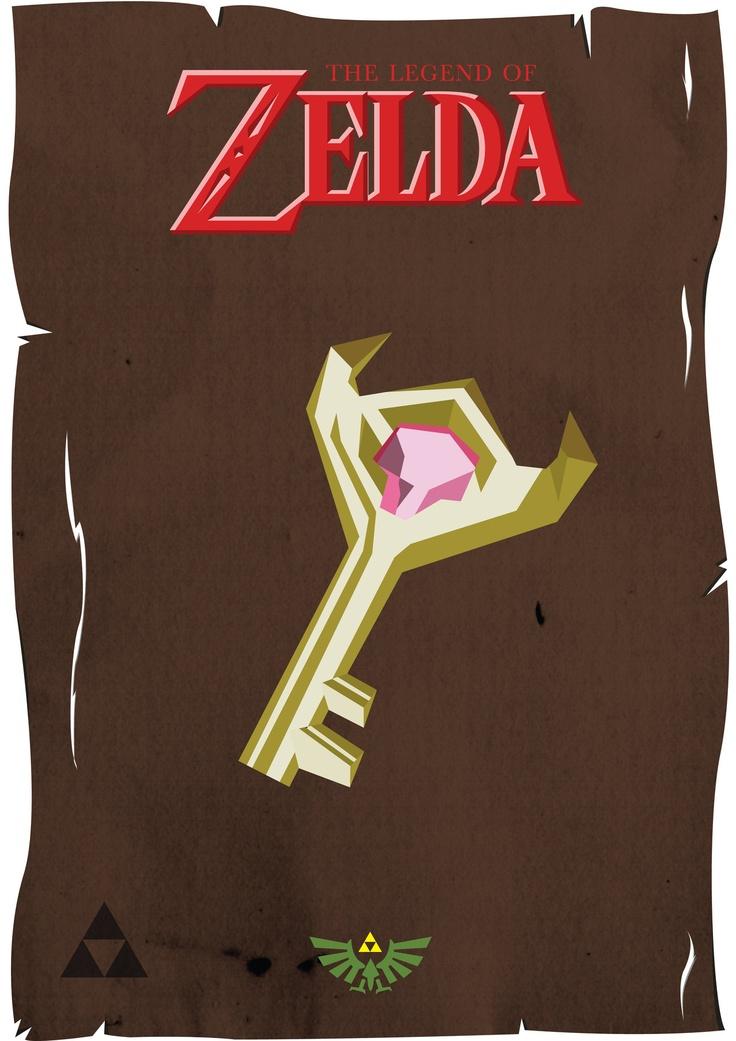Minimalist Classroom Zelda ~ Minimalist zelda posters by andy foster legend of