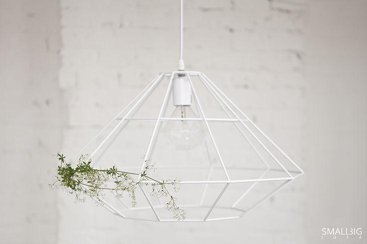 © smallbigidea.com white wire lamp.
