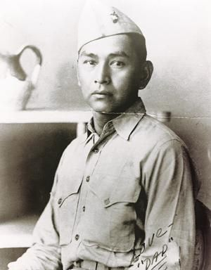 John Sells (1915 - 2007) was a Navajo Code Talker during WWII. Nearly 60 years passed between the time John Sells, of Shiprock, served as a Navajo Code Talker and the day he told his family he was one of the select group.