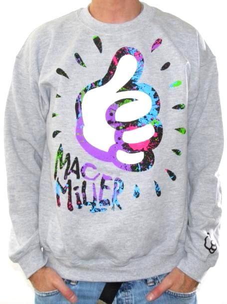 Click for Full Size Image of Mac Miller, Sweatshirt, Thumb size: medium