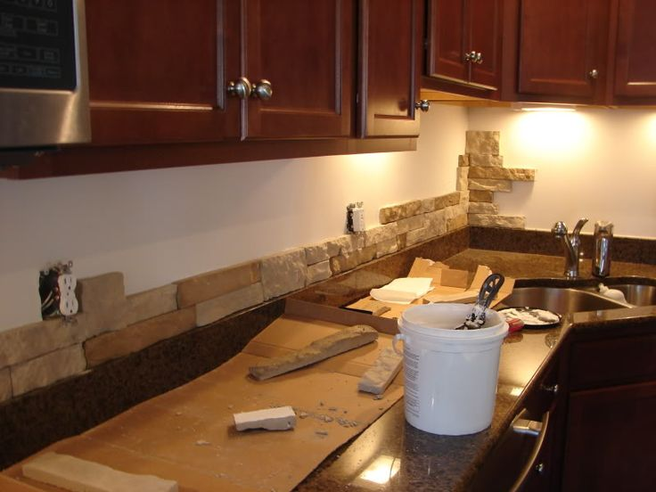 Best 25 Stone Backsplash Ideas On Pinterest Stacked