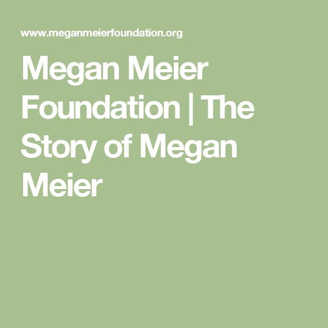 Megan Meier Foundation | The Story of Megan Meier
