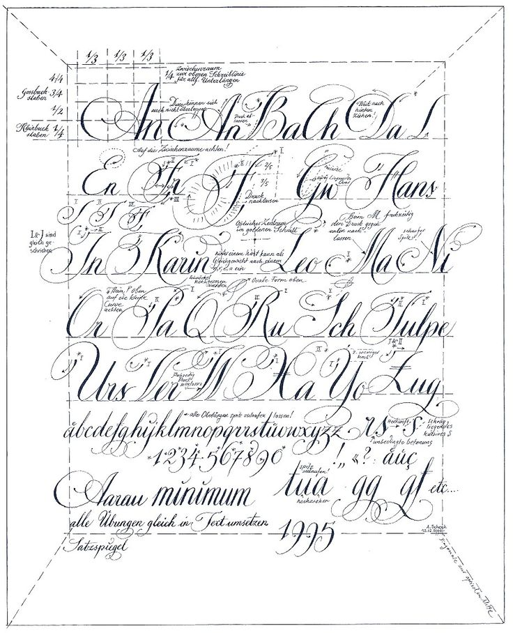 44 besten Calligraphy Bilder auf Pinterest | Handschrift ...
