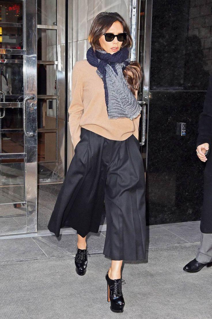 Así lleva Victoria los 'culottes'