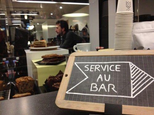 service au bar photo - Craft #Coffee #Paris