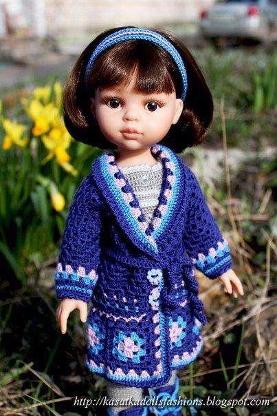 Мастер-класс KasatkaDollsFashions - вязаная одежда для кукол