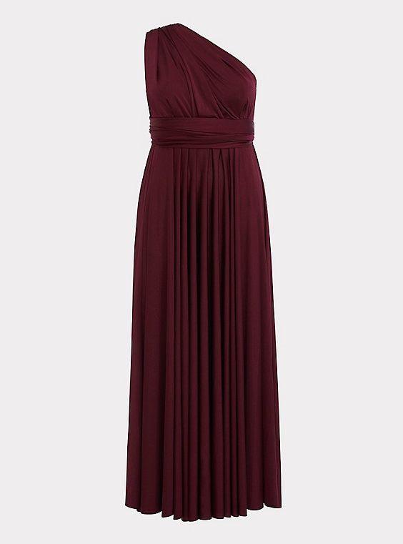 e26224900e Special Occasion Burgundy Studio Knit Convertible Maxi DressSpecial Occasion  Burgundy Studio Knit Convertible Maxi Dress