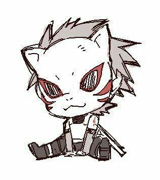 Kakashi (Naruto) Chibii