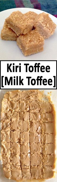 This is a popular Sri Lankan sweet. It would be very hard to find even one person who has not had it! The direct translation of Kiri Toffee is Milk Toffee. This toffee is very tasty and super easy to make!