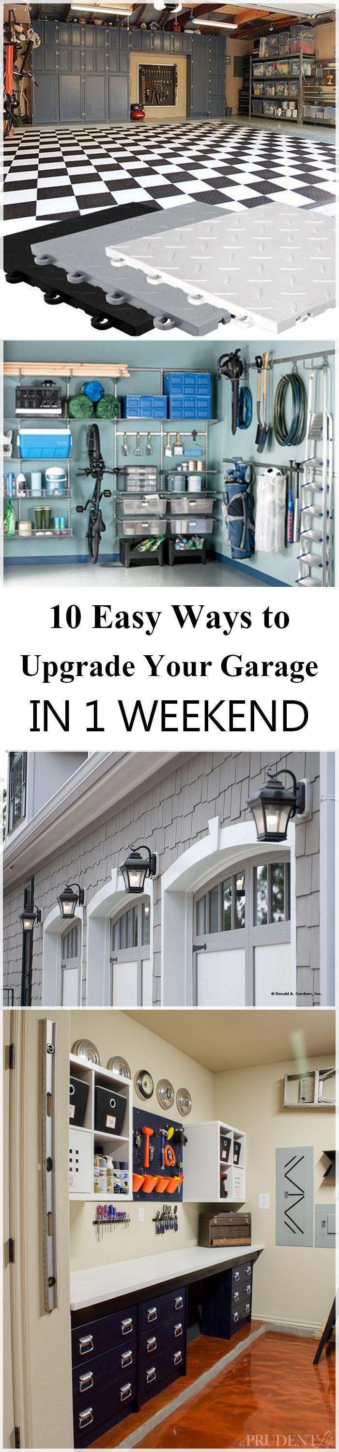 best 25+ garage storage ideas on pinterest | diy garage storage