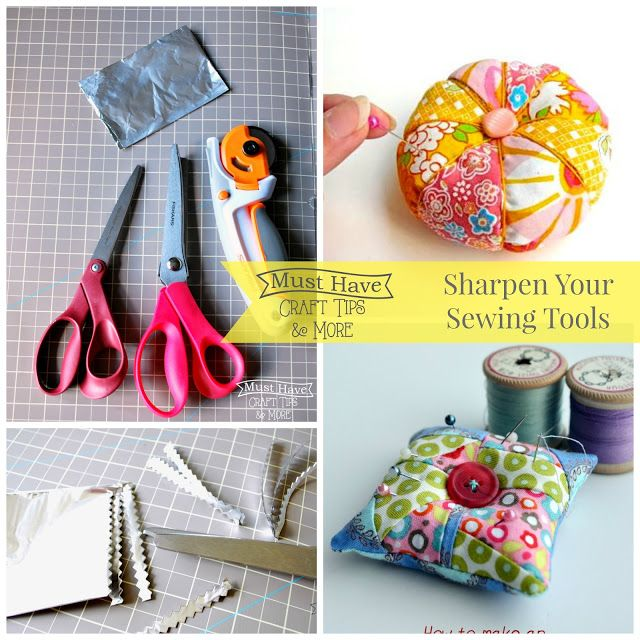 Must Have Craft Tips - Sewing Sharpening