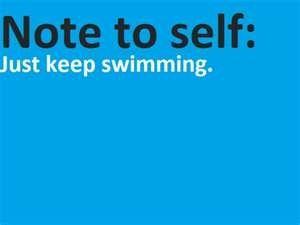 Swim swim swim!