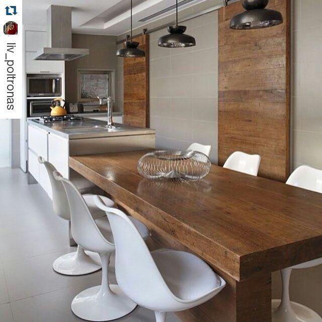 1000 images about casas interiores on pinterest - Mesas de sala modernas ...