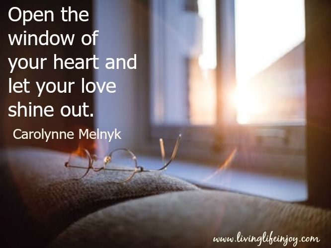 Unconditional love is free to give and receive. Be generous.