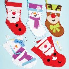 couture noel coudre des chaussettes de noel en feutrine activités manuelles enfant pas cher facile originale.jpg, oct. 2013