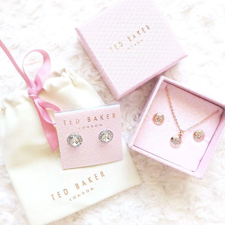 Ted Baker jewellery ✨ @glitterycupkate via Instagram