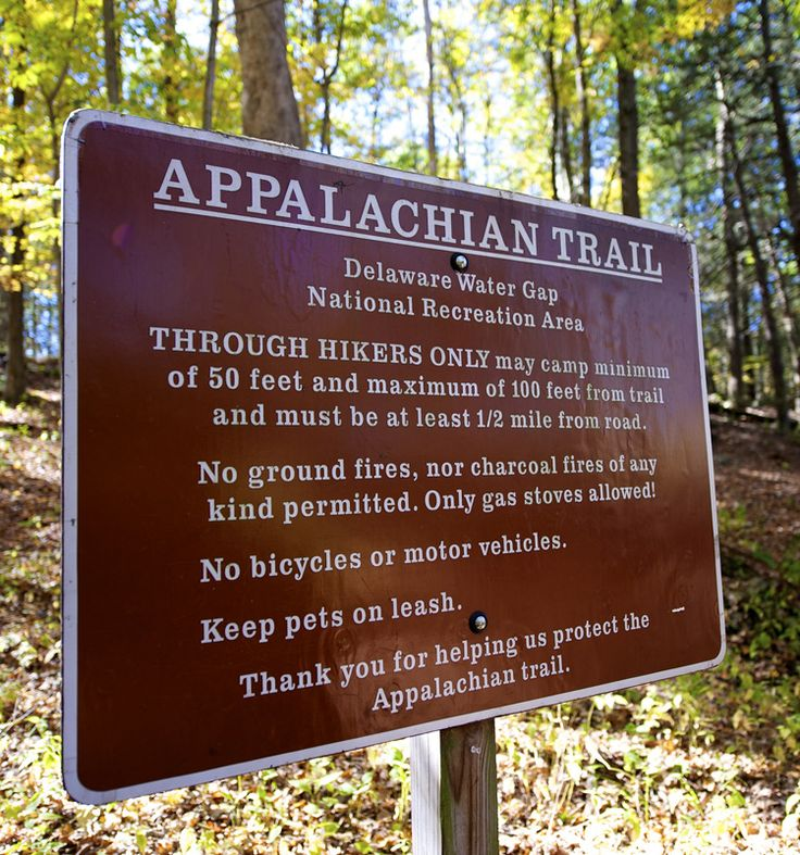 Visit the 2 National Parks and the 27 miles of the Appalachian Trail in the #PoconoMtns