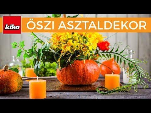 (290) Inspiráció őszi aszaldekorációhoz | Kika Magyarország - YouTube