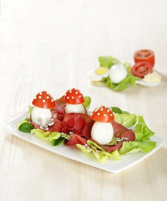 Al vostro #brunch parteciperanno dei bambini? Ecco una #ricetta originale e colorata: http://www.saporie.com/it/doc-s-135-17090-1-funghetti_valtellinesi.aspx