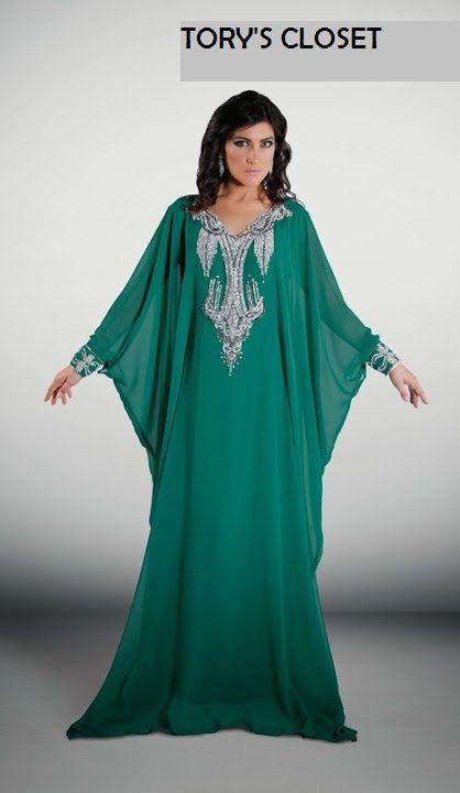 Very Fancy dubai Kaftan/Abaya/jalabiya/khaleejias by TORYSCLOSET