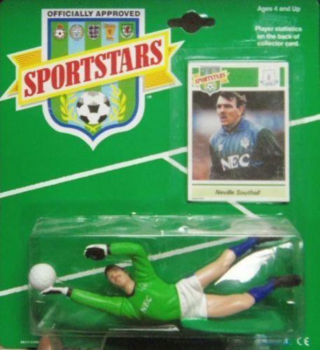 Neville Southall Everton Toffees 1989 Sportstars Action Figure Kenner NIB Goalie