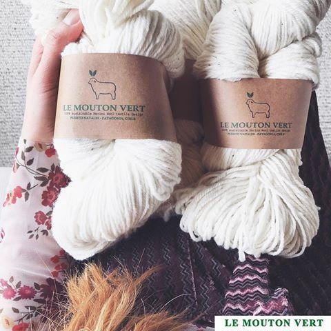 Disponible nuestra lana / wool Le Mouton Vert® Muy suave, blanca, fina e hipoalergénica. Desde los más hermosos pastizales y felices ovejitas 100% Merino de Puerto Natales 🐑 . Wool 100% Merino Le Mouton Vert / @lemoutonvert  From Patagonia, Chile ➖+Info: contact@lemoutonvert.org Shop Online: www.lemoutonvert.org // . #lemoutonvert #exclusive #sustainable #organic #wool #merinowool #knit #knittwear #organico #fallwinter #EthicalDesign from #PuertoNatales #Patagonia #PatagoniaChile #winter…