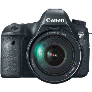 Amazon.com: Canon EOS 6D 20.2 MP CMOS Digital SLR Camera with 3.0-Inch LCD and EF24-105mm IS Lens Kit: CANON: Camera & Photo