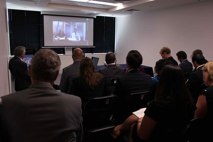 United Nations diplomatic briefing by UN Fiji Humanitarian Coordinator Ms. Osnat Lubrani via Skype to UNIC Canberra outlining the  US$38.6m Emergency Humanitarian Appeal after Cyclone Winston's devastation.    - 2/3 of needs still not met.    - 350,000 people affected,  - 32,000 homes damaged or destroyed.  - Shelter, education spaces and sanitation are key needs For  more information:  http://bit.ly/1RZiOY6