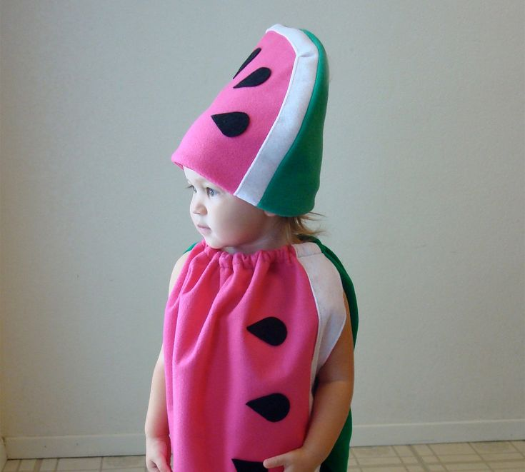 Kids Costume Halloween Costume Watermelon Costume Childrens Costume. $65.00, via Etsy.