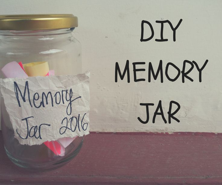 Making your memory jar in a very easy way.