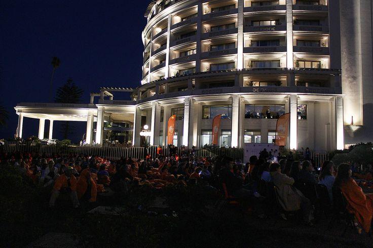 Cine bajo las Estrellas en Enjoy Viña del Mar #viñadelmar #casino #verano #enjoy #cine