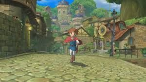 Ni No Kuni environment - Themed to surrounding world and setting, useful as reference for the village in Ever End