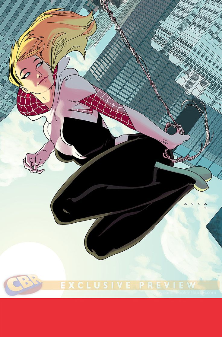 """Images for : Latour Gives """"Spider-Gwen"""" a Dangerous Homecoming - Comic Book Resources"""