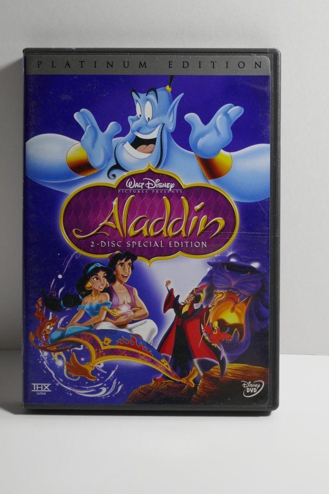 Walt Disney Aladdin (DVD, 2004, 2-Disc Set, Special Edition