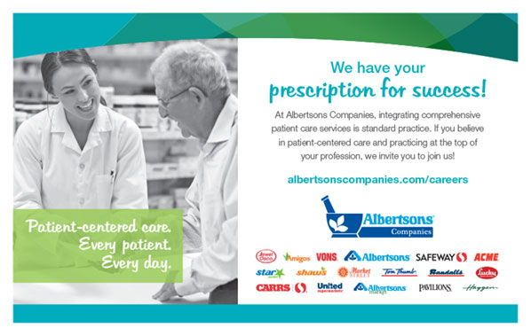 Albertsons Companies As Seen In The 2019 Pharmacy Platinum Pages Buyer S Guide Rxplatinumpages Com Patient Care Pharmacy Albertsons