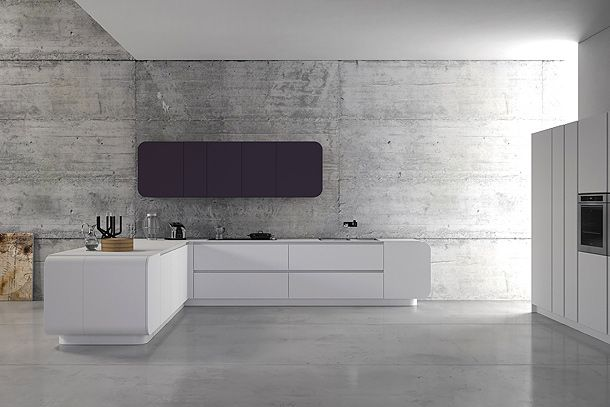 Minimalist Kitchen By: Numerouno de Doimo Cucine