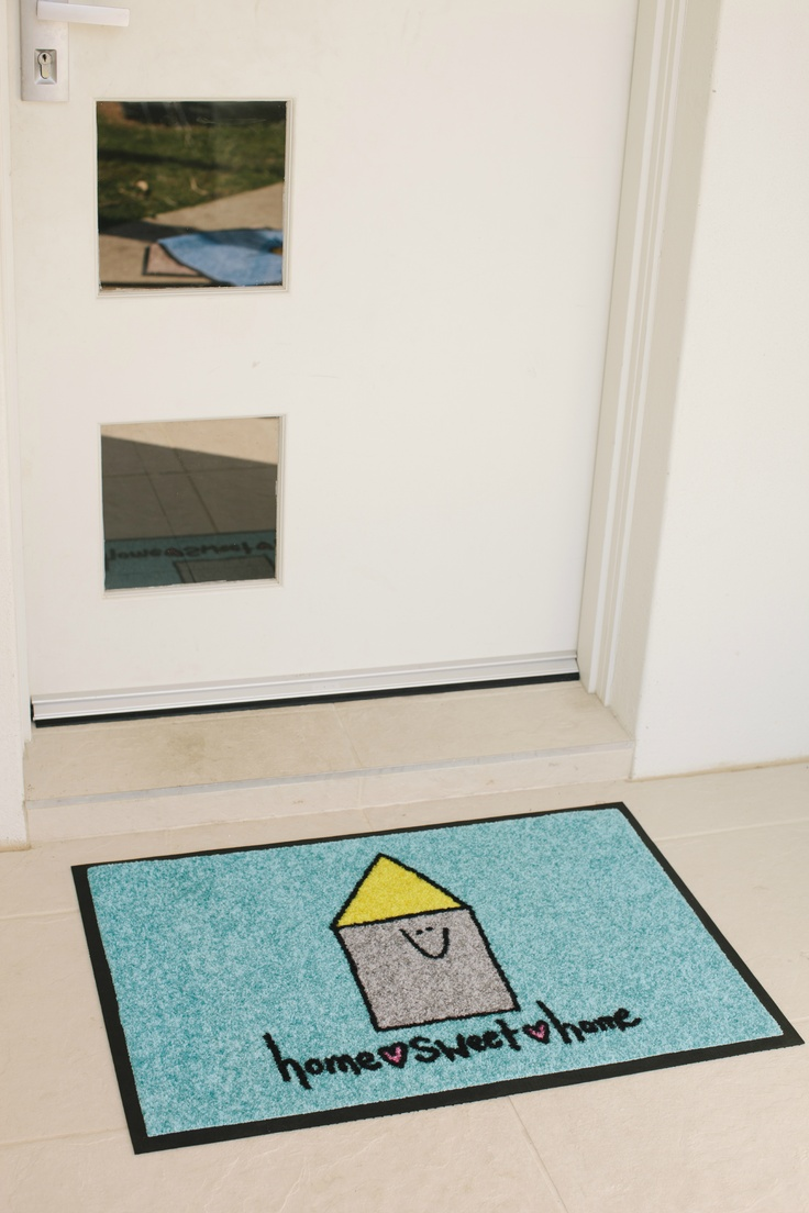 Whitney ii amp tiffany kitchen other by wood mode fine - Home Sweet Home Doormat Designed By Uk Designer Peas In A Pod