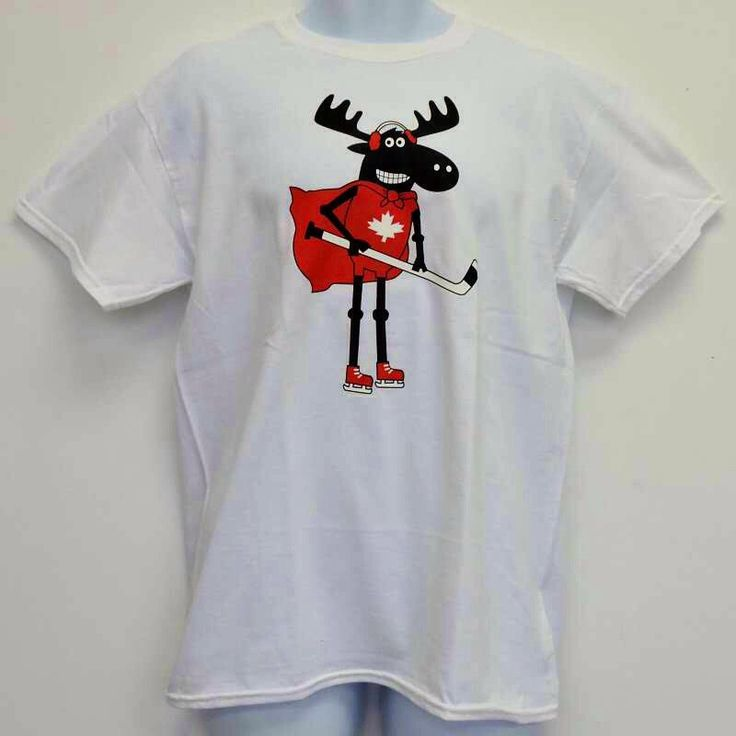 Canada Moose men's hockey t-shirt by CollectionUnique on Etsy