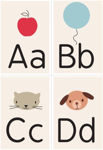 Love these free printable flashcards...unfortunately, she's releasing a set each month and they are not all available yet.