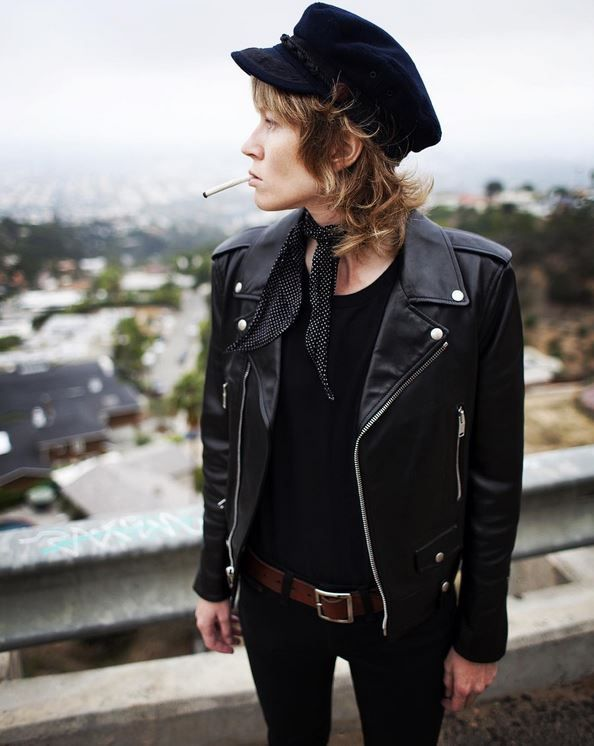 5353a2ddd303d Leather jacket inspo in 2019
