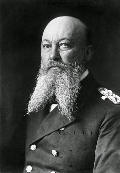 Dinge en Goete (Things and Stuff): This Day in World War 1 History: MARCH 16, 1916 : GERMAN ADMIRAL ALFRED VON TIRPITZ RESIGNS