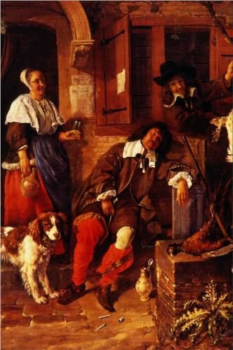 A report on the painting a girl receiving a letter by gabriel metsu in the timken museum of art