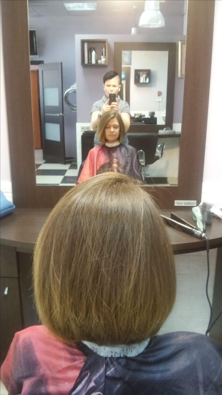 Женские стрижки на средние волосы, Средняя длина волос, Волосы по плечи, Стрижка Каре