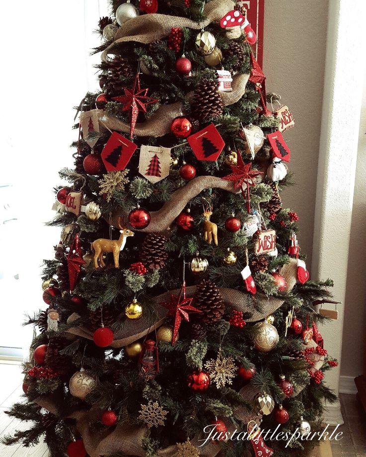 Best 20 Rustic Christmas Trees Ideas On Pinterest