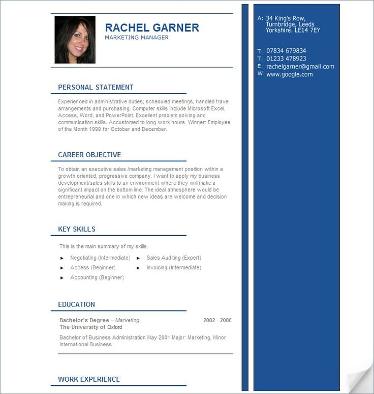professional resume samples we provide as reference to make correct and good quality resume